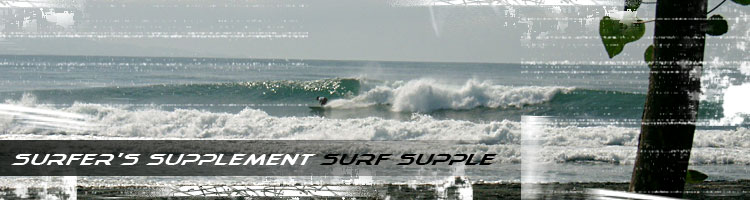 Surfer's Supplement Surf Supple - contains Amino Acid 5300mg + various ingredients that are a must for surfers